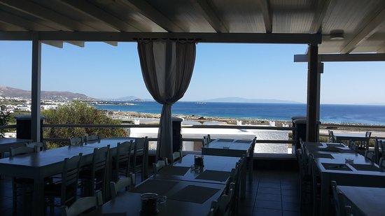 Agios Prokopios, Grekland: Terrazza ristorante