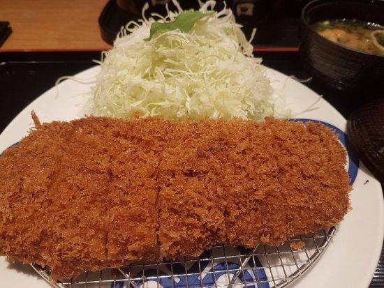 Tonkatsu Maisen Daimaru Tokyo 12F : 炸豬排