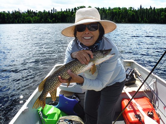 Sioux Lookout, Canada: Gal 1, The Girls Canadian Fishing Adventure