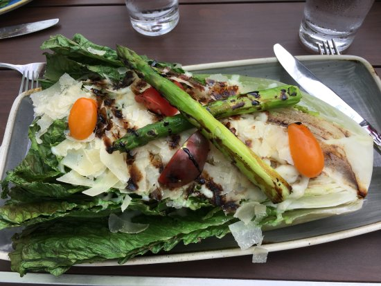 Lake Forest, IL: Wonderful grilled romaine salad
