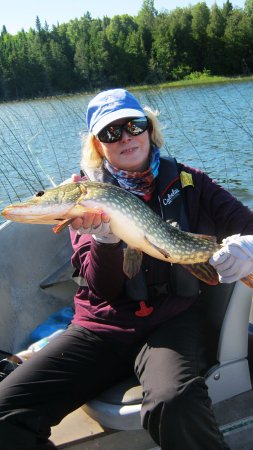 Sioux Lookout, Canada: Gal 2, The Girls Canadian Fishing Adventure
