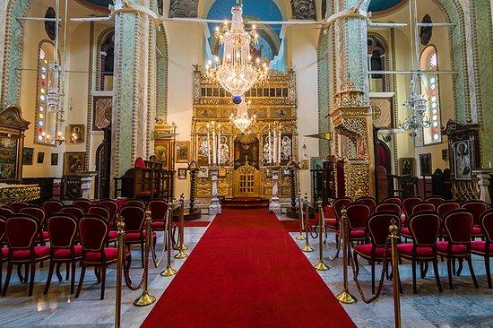Princes' Islands, Turquia: Agios Ioannis Othodox church at Burgazada, the Naos.