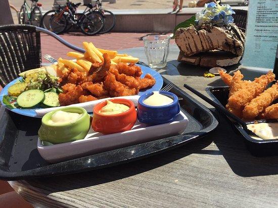 Makkum, The Netherlands: Kibbeling Schotel