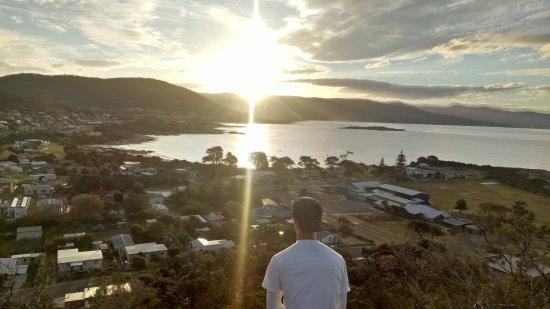 Bicheno, Australien: sunset