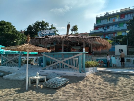 Obzor, Bulgaria: Beach Bar Seaway