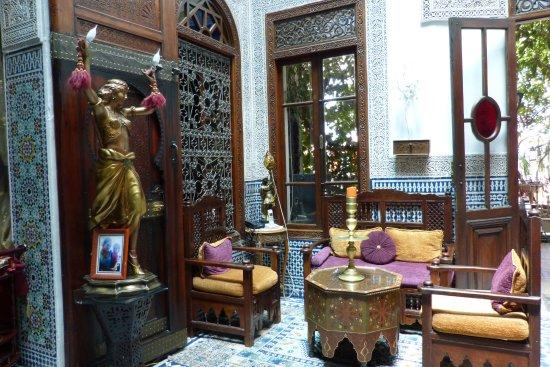 Riad L'Arabesque : salon