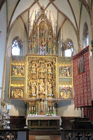 Schnatterpeck Altar: Die Werkstatt Hans Schnatterpeck schuf den Flügelaltar 1503-1511 aus Kastanienholz.