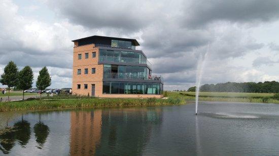 Brackley, UK: Turweston Control Tower and Flight Deck Cafe.