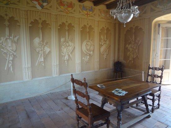Arlesheim, Suiza: Schloss Birseck - chambre des chevaliers