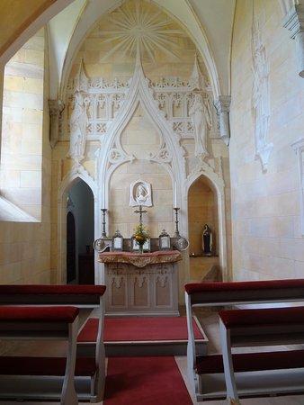 Arlesheim, Suiza: Schloss Birseck - chapelle