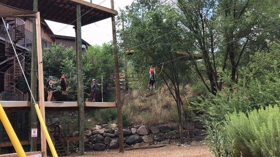 Glenwood Canyon Zipline Adventures : Little Tuckers Zipping
