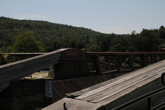 Lackawaxen, Pensilvanya: The bridge