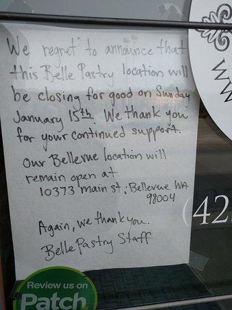 Redmond, WA: Closed ?