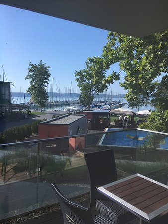 BL YachtClub & Apartments: view from the balcony