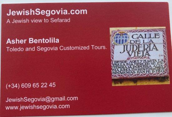 Jewish Segovia and Jewish  Toledo