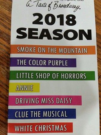 La Comedia Dinner Theatre: 2018 Season Shows