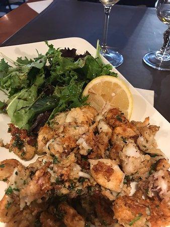 Fried Squid Picture Of La Table Du 8eme Marseille Tripadvisor