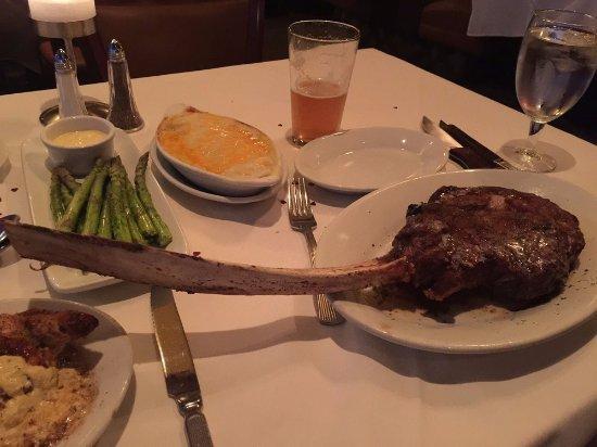 Tomahawk Steak 119 Picture Of Ruth S Chris Steak House