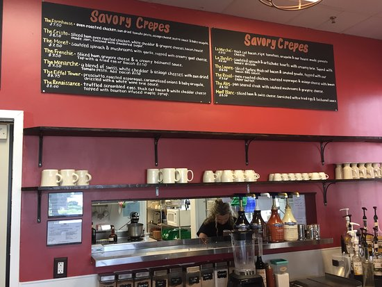 Johns Creek, GA: Very interesting and flavorful ideas for breakfast and/or lunch.