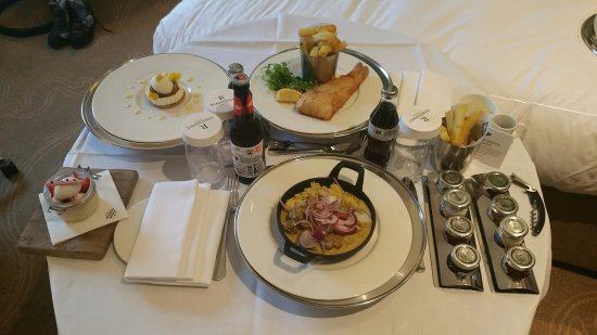 Room Service Picture Of St Pancras Renaissance Hotel London London Tripadvisor