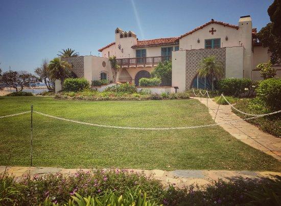 Adamson House and Malibu Lagoon Museum: Back of the house
