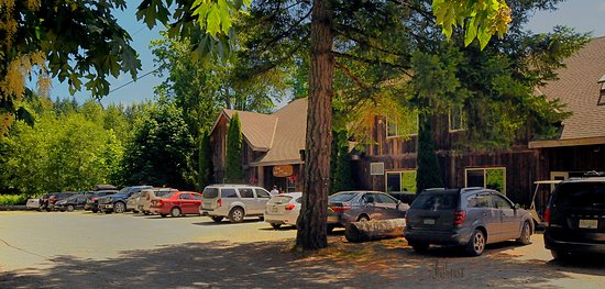 Ladysmith, Kanada: ample free parking