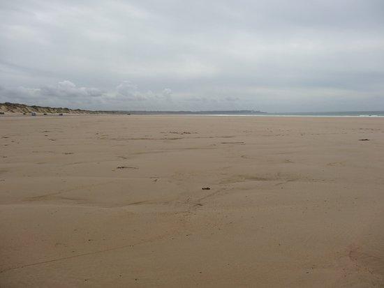 La plage de Biville en juillet!!!