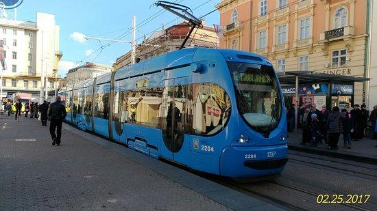 Zagreb Tram In Front Of The Ban Jelacic Square Picture Of Zagreb Day Trips Tripadvisor