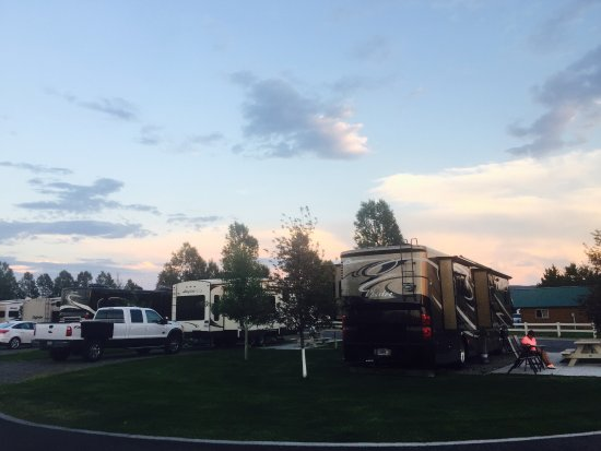 Yellowstone Grizzly RV Park: Big, nicely manicured sites