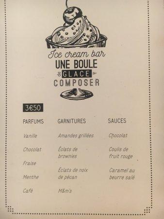 Gustave Cafe Besancon Carte