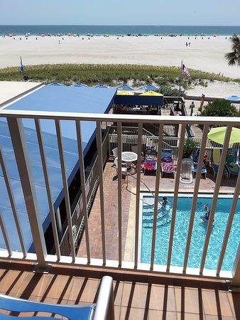 Bilmar Beach Resort: Not easy beach access