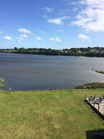 Ferrycarrig, Irlanda: View from room .