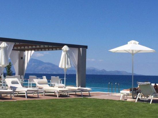 Tragaki, اليونان: Pool area