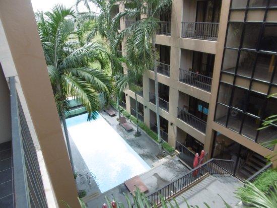 The Cottage Suvarnabhumi: View from my room balcony.