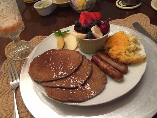Montford Inn and Cottages: Awesome pancakes