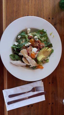 Auntie Pesto's Cafe: my Salad