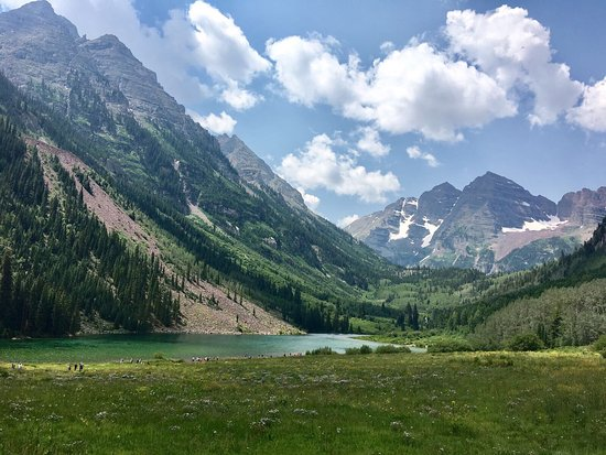One Of The Best View Maroon Bells Is Such An Amazing Place
