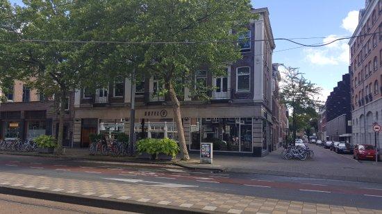 Hotel V Frederiksplein: Hotel V - street view