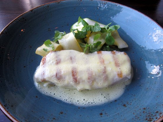 Yardley, PA: Striped Bass w/ Saffron Butter Sauce