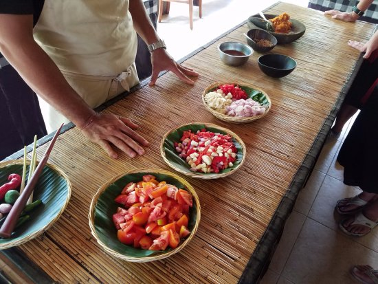 Lobong Culinary Experience: Some of the raw ingredients before the sambal is prepared