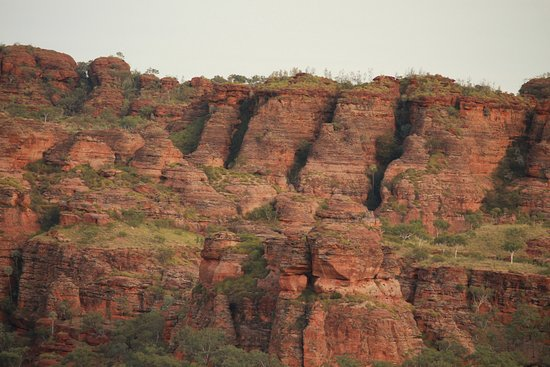 Territorio del Norte, Australia: View from walk at Goorrandlng Campground, Keep River National Park