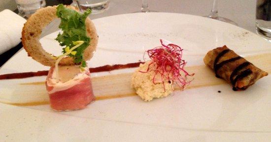 Riom, Fransa: Variation autour du foie gras