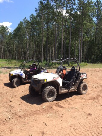 Sturgeon Lake, MN: Our atvs