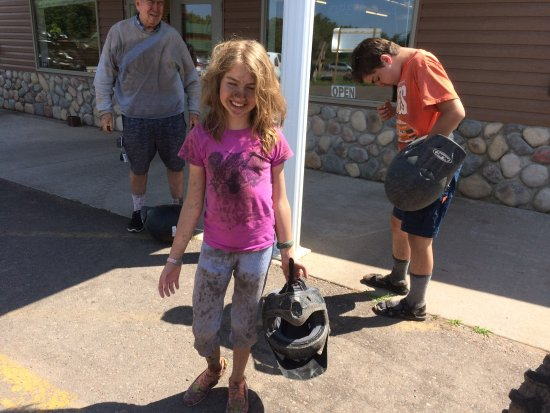 Sturgeon Lake, MN: We got dirty