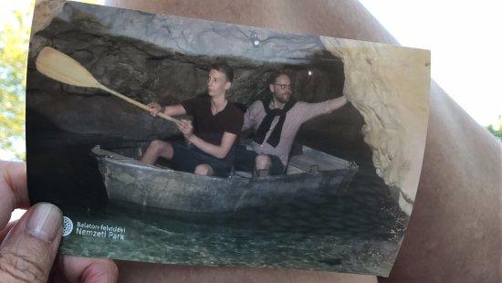Lake Cave: A souvenir...