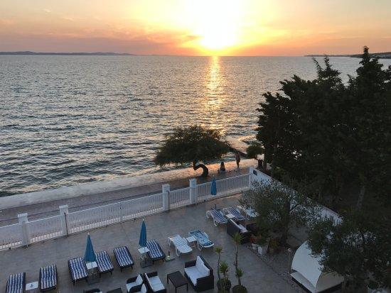 Villa Triana: Sunset from room 30 balcony