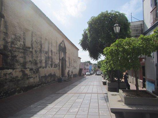 La Asunción, Venezuela: Alrededores de la catedral