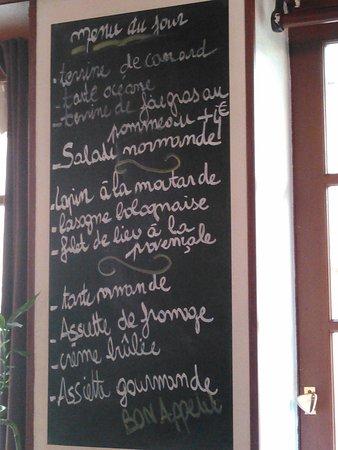 Crevecoeur-en-Auge, Γαλλία: la carte du 11 fév