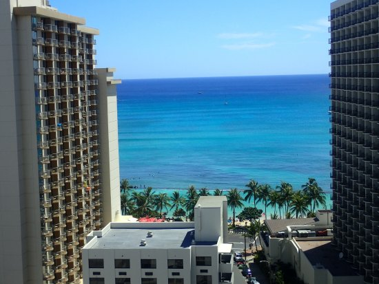 Hyatt Place Waikiki Beach: Our view from the 19th floor