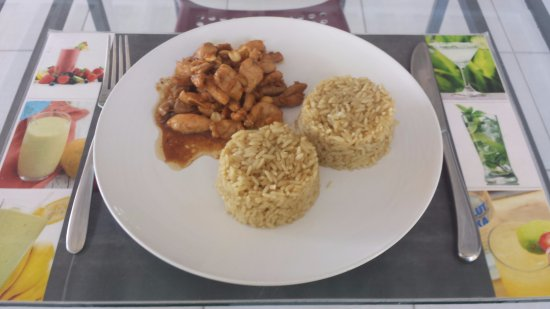 Fried Chicken In Sour Sweet Sauce With Nuts Picture Of La